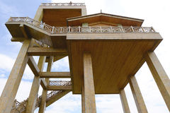 Free Architecture Of Watch Tower Stock Image - 55606611