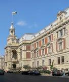 Architecture of Old Baku.Azerbaijan State Economic University royalty free stock images