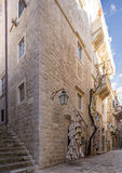 Architecture of old Dubrovnik. Croatia. Stock Image