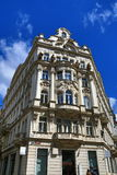 The architecture of the old houses, Old Town, Prague, Czech Republic Royalty Free Stock Images