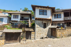Architecture in Old Lovech in Bulgaria royalty free stock photo