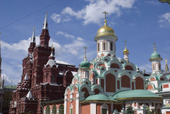 Architecture of the old Moscow Stock Photography