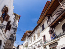 Architecture in the old part of Stone Town, Zanzibar Stock Photo