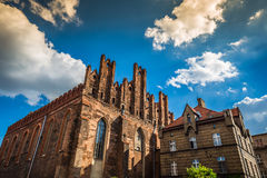 Architecture of old town in Gdansk Royalty Free Stock Image