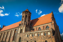 Architecture of old town in Gdansk Royalty Free Stock Photo