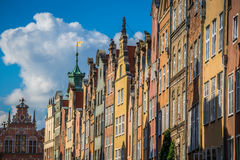 Architecture of old town in Gdansk Stock Photo
