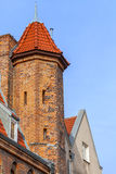 Architecture of the old town in Gdansk Royalty Free Stock Images