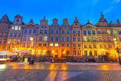 Architecture of old town in Gdansk. Poland Stock Photo
