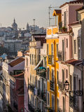 Architecture in the Old Town of Lisbon, Portugal Royalty Free Stock Image