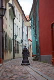 Architecture of the old town of Riga Royalty Free Stock Photo