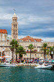 Architecture of the Old Town in Split, Croatia Royalty Free Stock Photography