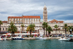 Architecture of the Old Town in Split, Croatia Stock Photography
