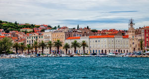 Architecture of the Old Town in Split, Croatia Stock Photos
