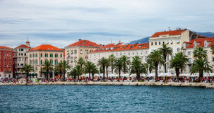 Architecture of the Old Town in Split, Croatia Stock Images