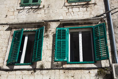 Architecture in the old town of Split Stock Photo