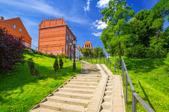 Architecture of the old town of Tczew. Poland Stock Image