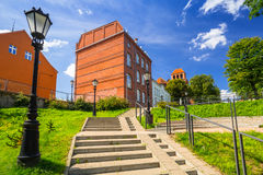 Architecture of the old town of Tczew. Poland Stock Photo