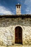 Architecture of old UNESCO city of Berati, Albania Stock Photography