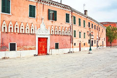 The architecture of the old Venice Stock Photography
