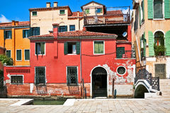 The architecture of the old Venice Royalty Free Stock Photos