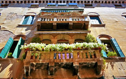 The architecture of the old Venice Royalty Free Stock Photo