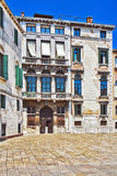 The architecture of the old Venice Stock Photos