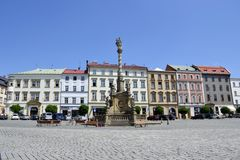 Architecture from Olomouc. With blue sky Stock Image