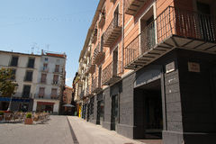 Architecture Olot Spain. Architecture in Olot Catalonia north Spain Royalty Free Stock Photos