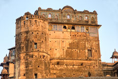 Architecture of Orcha's Palace, India. Stock Photography