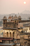 Architecture of Orcha's Palace, India. Royalty Free Stock Image