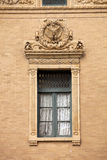 Architecture: Ornate Window Royalty Free Stock Photo