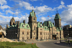 Architecture in Ottawa, Canada royalty free stock image