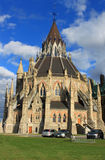 Architecture in Ottawa, Canada. Beautiful architecture in the back of Parliament buildingl in the capitol of Canada, Ottawa Royalty Free Stock Photos