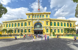 Architecture outside Saigon Central Post Office Royalty Free Stock Image