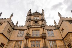 Architecture of Oxford, England, United Kingdom stock photography