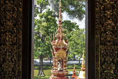 Architecture of pagoda in Chiangrai Royalty Free Stock Photography