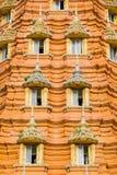 Architecture pagoda stupa door Royalty Free Stock Image