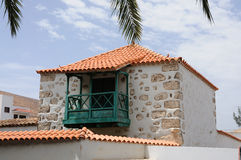 Architecture in Pajara, Fuerteventura, Spain Royalty Free Stock Image