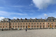 The architecture in palace of versailles , paris,france Royalty Free Stock Photos