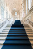 Architecture: Palazzo Madama's staircase Stock Photography