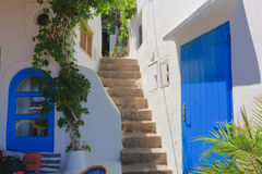 Architecture in Panarea Royalty Free Stock Photo