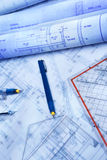 Architecture paperwork Royalty Free Stock Image
