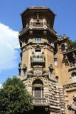 Architecture par Coppede à Rome Image libre de droits