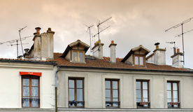 Architecture in Paris 13th district Royalty Free Stock Images