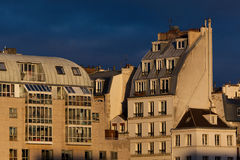 Architecture of Paris, France Stock Image