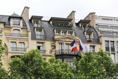 The architecture in paris,france Stock Image
