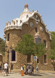 Architecture of Park Guell Royalty Free Stock Photos
