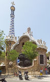 Architecture of Park Guell Stock Images