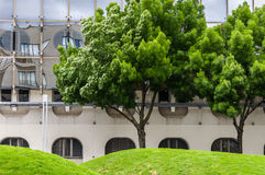 Architecture and parks in Bordeaux Stock Images