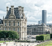 Architecture and parks of Paris Royalty Free Stock Photo